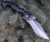 Складной нож Spartan Folding Kopis, Stonewashed Cartpenter CTS® BD1 Alloy, Black Grivory® Handle 11.43 см. - Nozhikov.ru