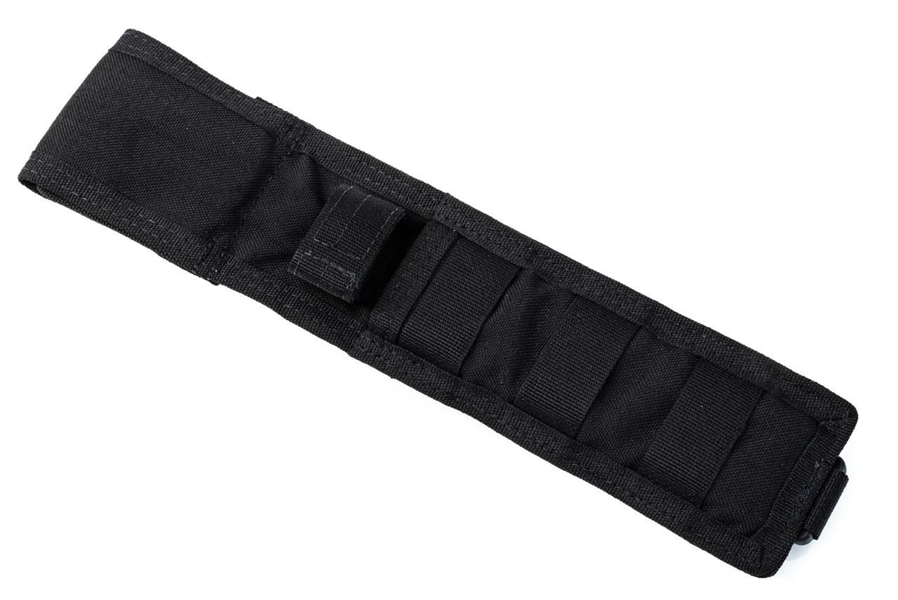 Фото 9 - Нож с фиксированным клинком Spartan Blades Horkos, сталь CPM S35VN, рукоять микарта, чехол черный