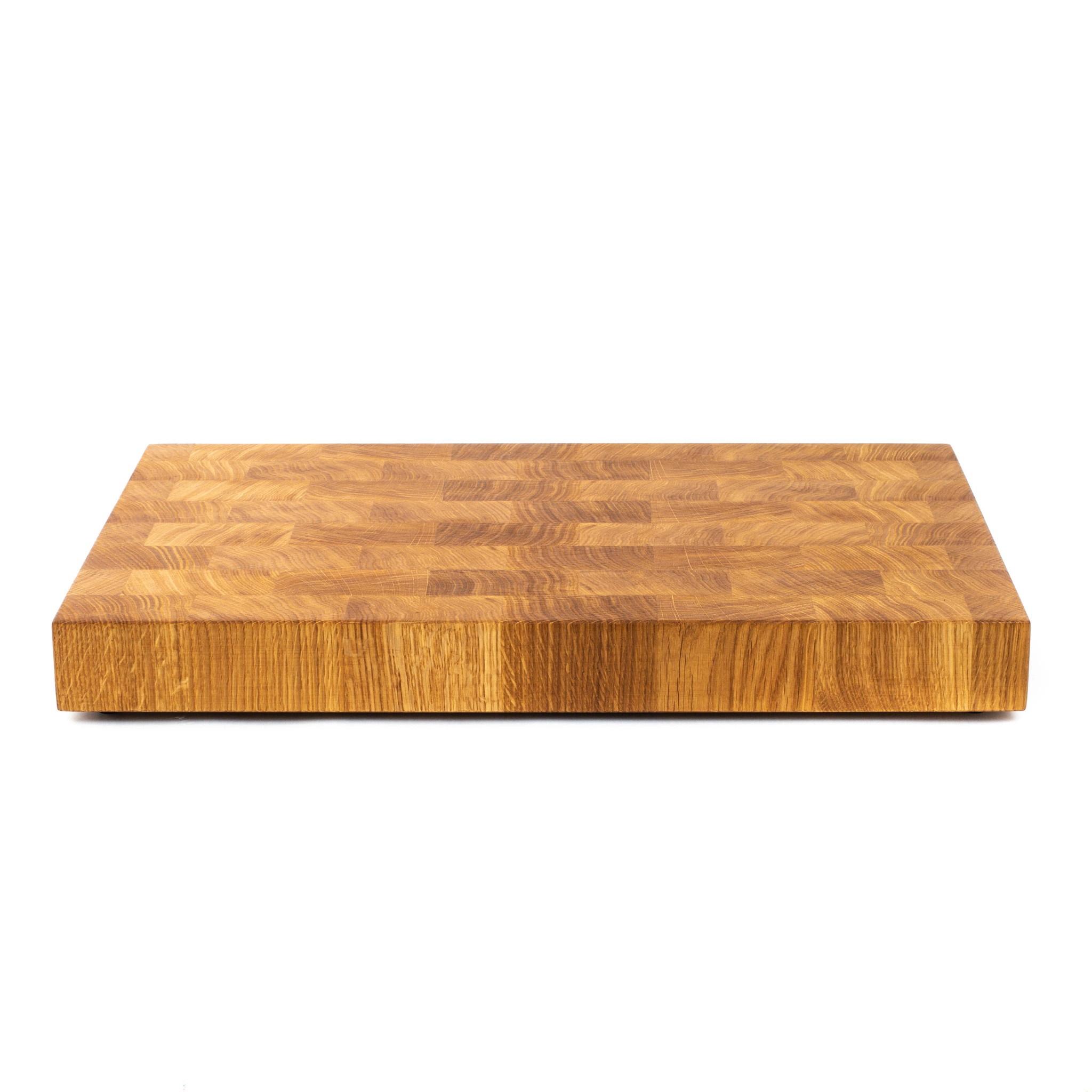Доска разделочная торцевая, дуб, 30х40х5 см