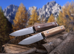 Нож LionSteel B40 ST, сталь Sleipner, рукоять Santos, фото 6