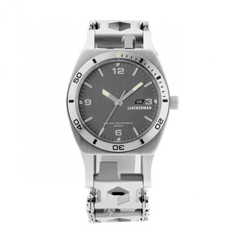 Часы мультитул Leatherman Tread™ Tempo с браслетом. Вид 3