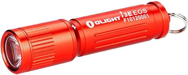 Фонарь Olight i3E eos, красный фонарь olight h25