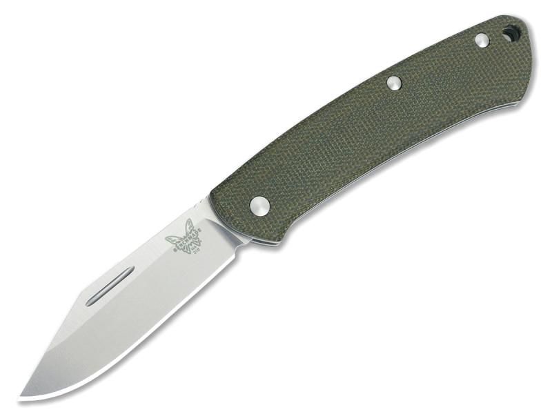 Фото 11 - Нож складной Benchmade Proper 318, сталь CPM S30V, рукоять микарта