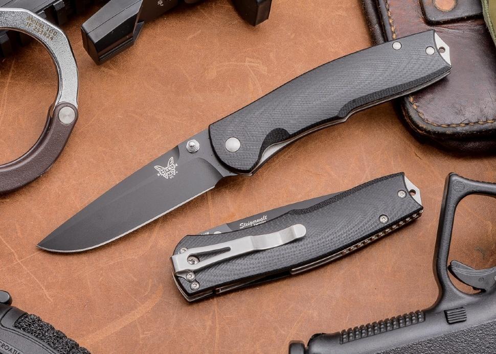 Фото 7 - Полуавтоматический нож Benchmade Torrent 890BK, сталь 154CM, рукоять G-10