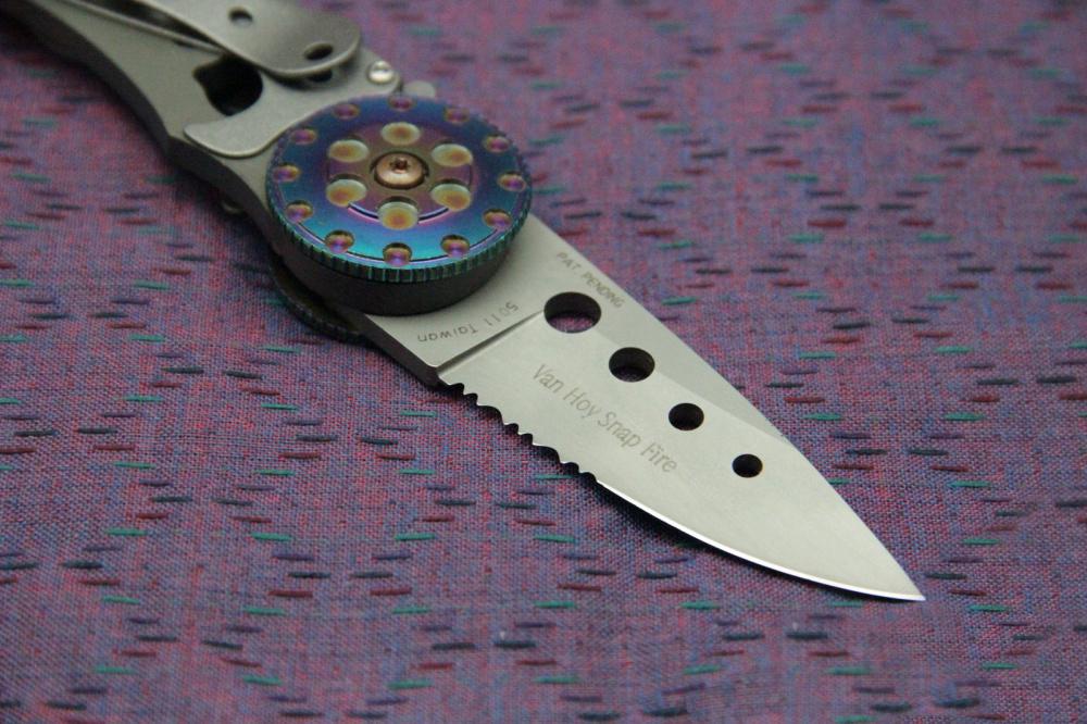 Фото 5 - Складной нож CRKT Snap Fire (CR/5011), сталь AUS-8, рукоять сталь 410