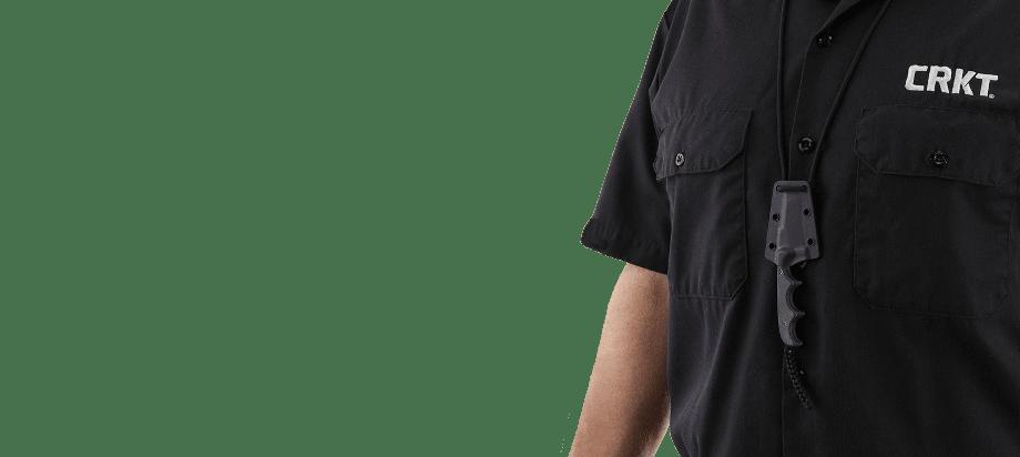 Фото 10 - Нож с фиксированным клинком CRKT Minimalist Bowie, сталь 5Cr15MoV, рукоять микарта