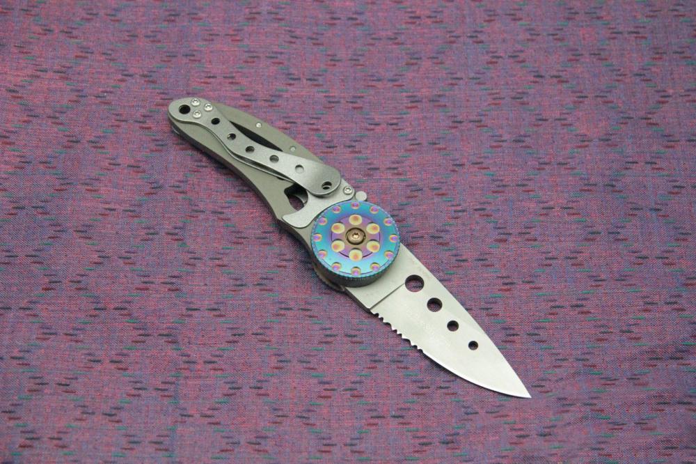 Фото 6 - Складной нож CRKT Snap Fire (CR/5011), сталь AUS-8, рукоять сталь 410
