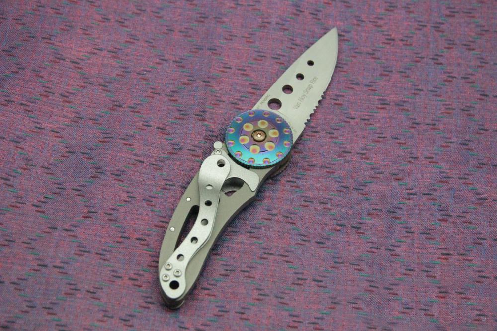 Фото 7 - Складной нож CRKT Snap Fire (CR/5011), сталь AUS-8, рукоять сталь 410