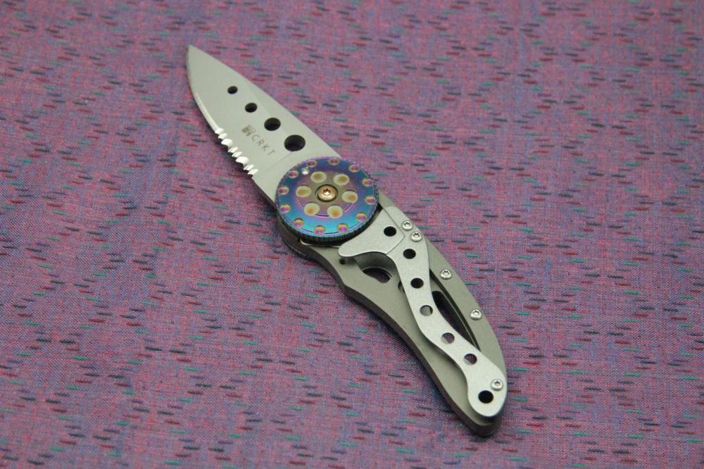 Фото 8 - Складной нож CRKT Snap Fire (CR/5011), сталь AUS-8, рукоять сталь 410