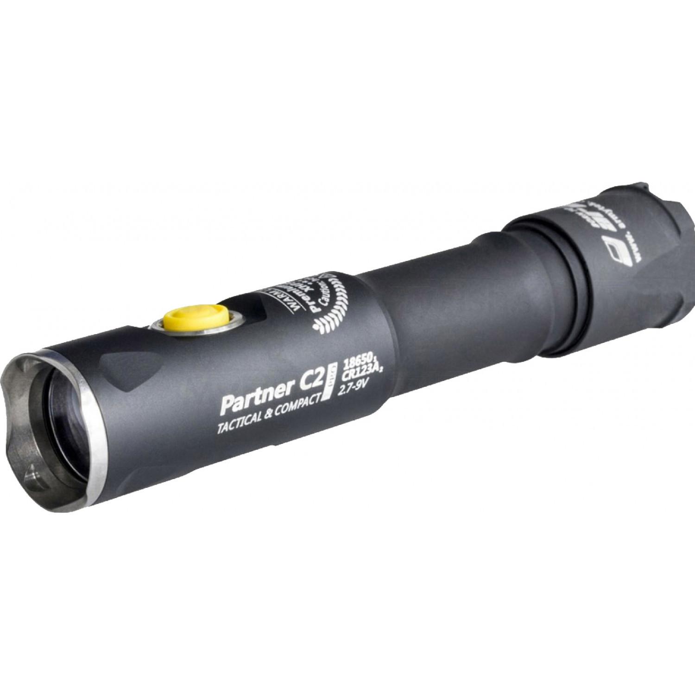 цена на Фонарь светодиодный тактический Armytek Partner C2 Pro v3, 2100 лм, аккумулятор