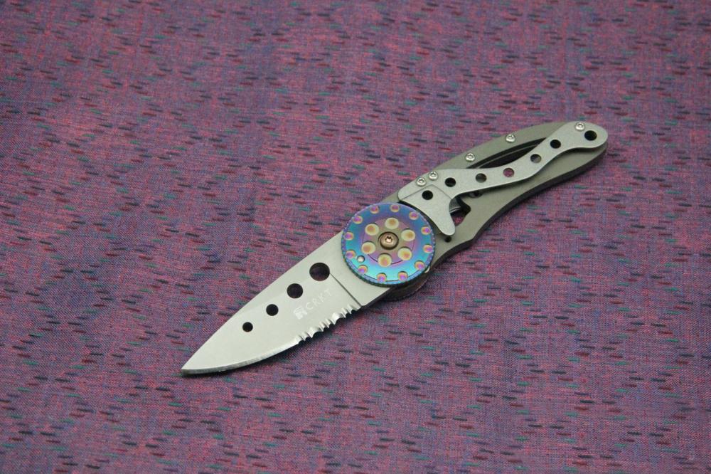 Фото 9 - Складной нож CRKT Snap Fire (CR/5011), сталь AUS-8, рукоять сталь 410