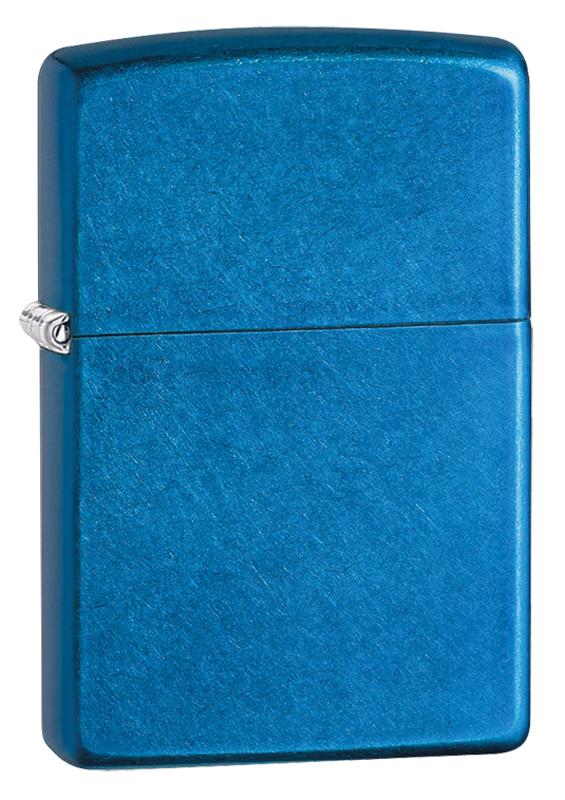 Зажигалка ZIPPO Classic с покрытием Cerulean™ часы зажигалка