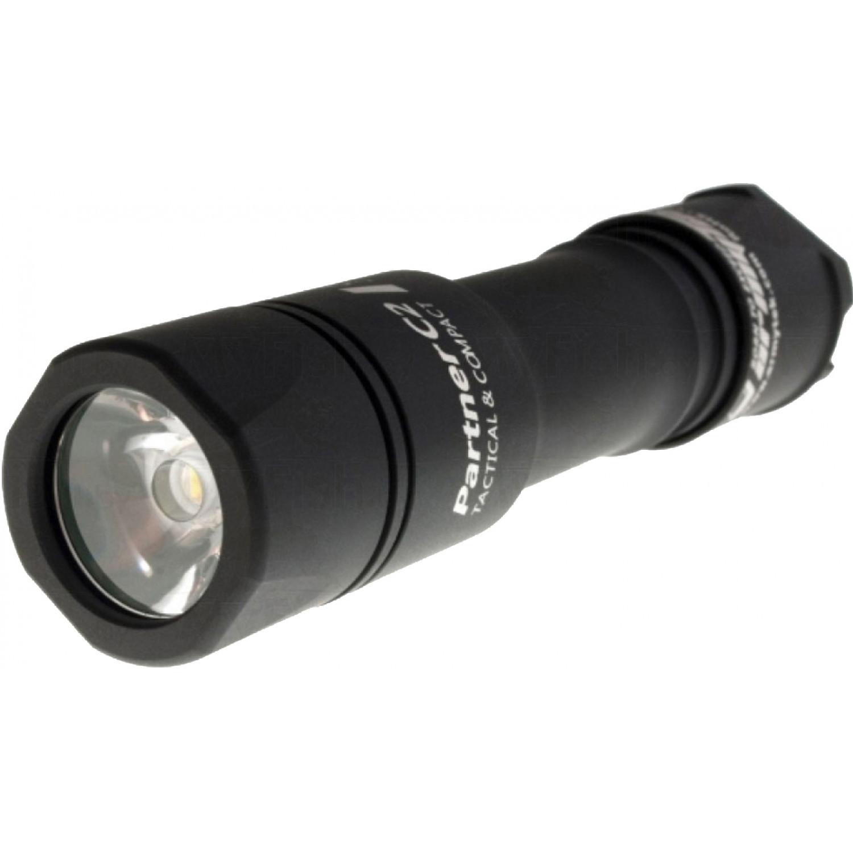 Фонарь светодиодный тактический Armytek Partner C2 v3, 1160 лм, теплый свет, аккумулятор светильник светодиодный 21w 400мм теплый свет