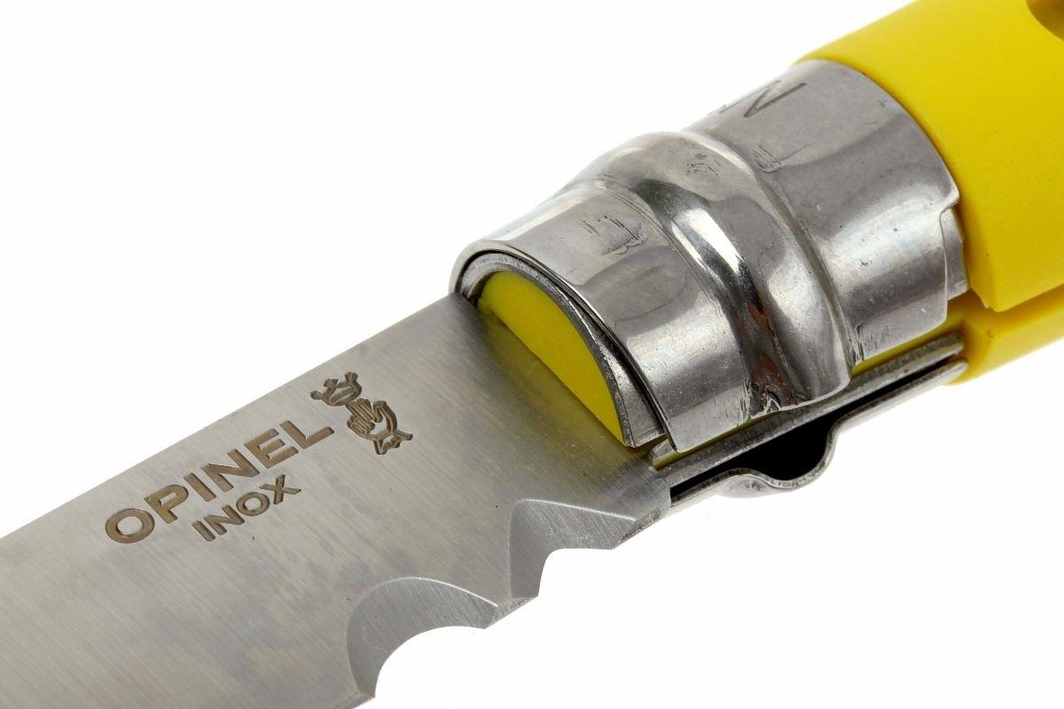 Фото 12 - Нож складной Opinel №9 VRI DIY Yellow, сталь Sandvik 12C27, рукоять термопластик, желтый, 001804