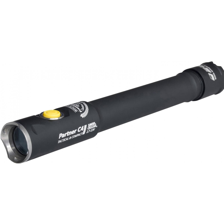 Фонарь светодиодный тактический Armytek Partner C4 Pro v3, 2140 лм, теплый свет, аккумулятор плеер colorful colorfly pocket hifi c4 pro