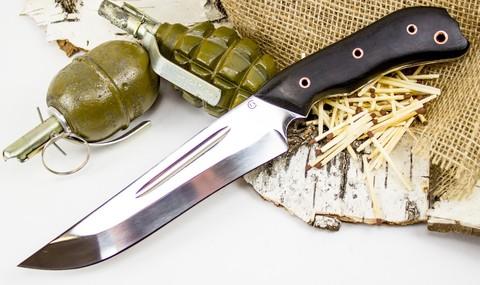 Нож Гарпун-1, сталь 95х18, венге - Nozhikov.ru