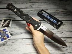 Складной нож Counter Point XL - Cold Steel 10AA, сталь AUS 10A, рукоять Griv-Ex™ (высококачественный пластик), фото 8