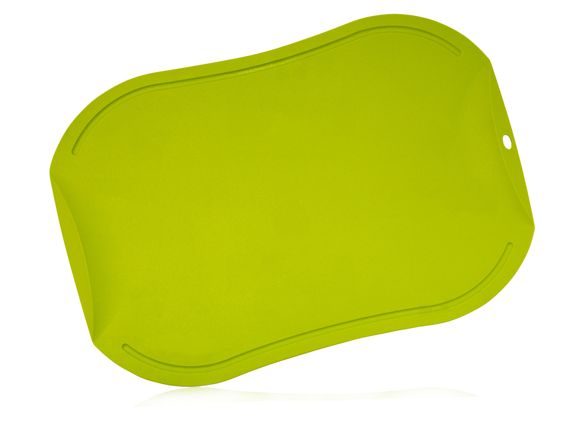 Доска разделочная, Hatamoto, JH-141G, био-пластик, зеленая