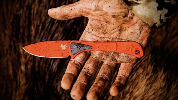 Фото 7 - Нож Benchmade ALTITUDE™ 15200ORG, сталь CPM S90V, рукоять карбон/G10 оранжевый