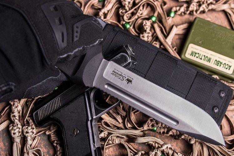 Фото 10 - Нож Dominus AUS-8 SW, Kizlyar Supreme