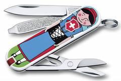 Нож перочинный Victorinox Classic Appenzeller 0.6223.L1401 58мм 7 функций дизайн Аппенцеллер