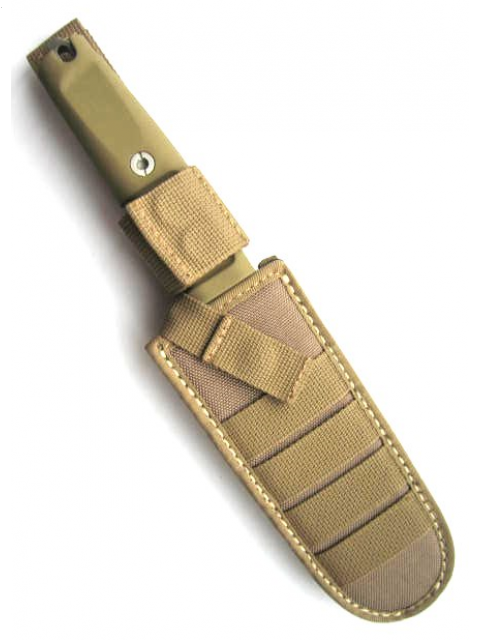 Фото 5 - Полевой поварской нож Extrema Ratio Kato 15 Desert Camo,  сталь Bhler N690, рукоять Forprene®