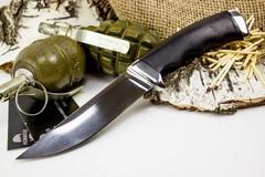Нож Кобра-3, сталь 95х18, граб, фото 2