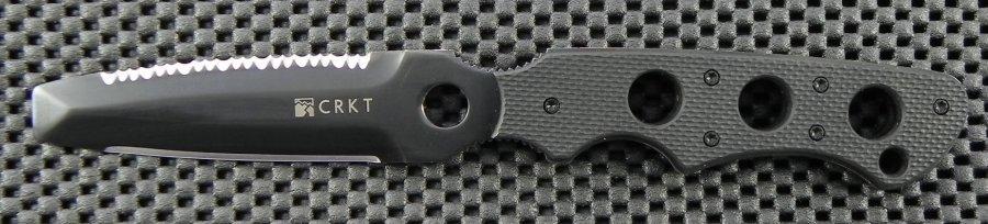 Фото 7 - Нож с фиксированным клинком CRKT Hammond-ABC, сталь AUS-8, рукоять Zytel