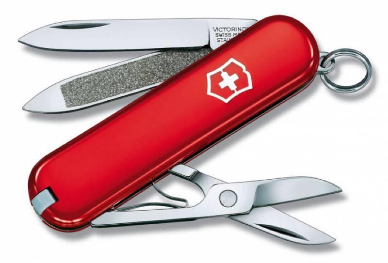 Нож перочинный Victorinox Classic 0.6203 58 мм 7 функций красный