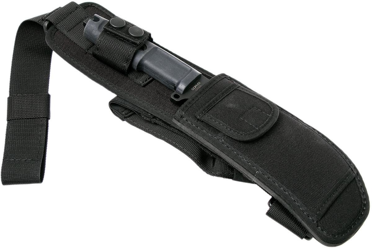 Фото 4 - Нож с фиксированным клинком Extrema Ratio Corvo, сталь Bhler N690, рукоять пластик
