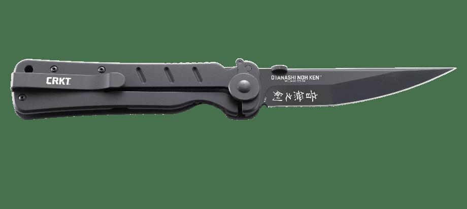 Фото 11 - Складной нож Otanashi noh Ken™ - CRKT 2906, сталь AUS-8 Black Finish, рукоять стеклотекстолит G10