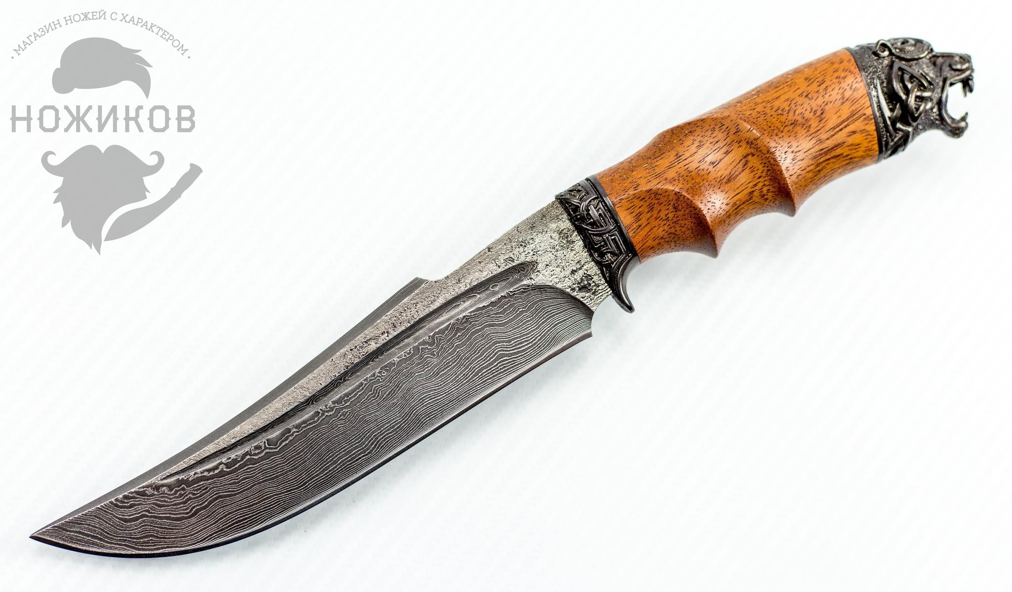 Авторский Нож из Дамаска №82, Кизляр