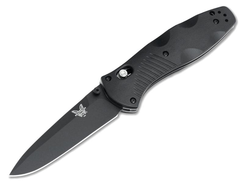 Фото 3 - Полуавтоматический нож Benchmade 580BK Barrage, сталь 154CM, рукоять пластик
