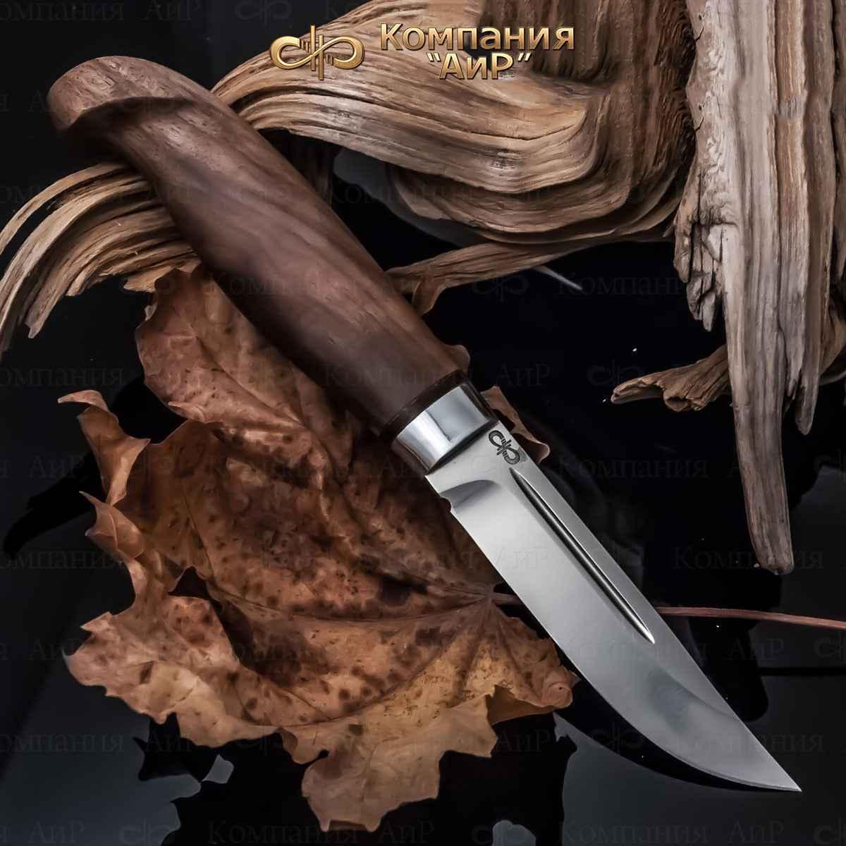 Нож АиР Финка Лаппи, сталь 110х18 М-ШД, рукоять дерево