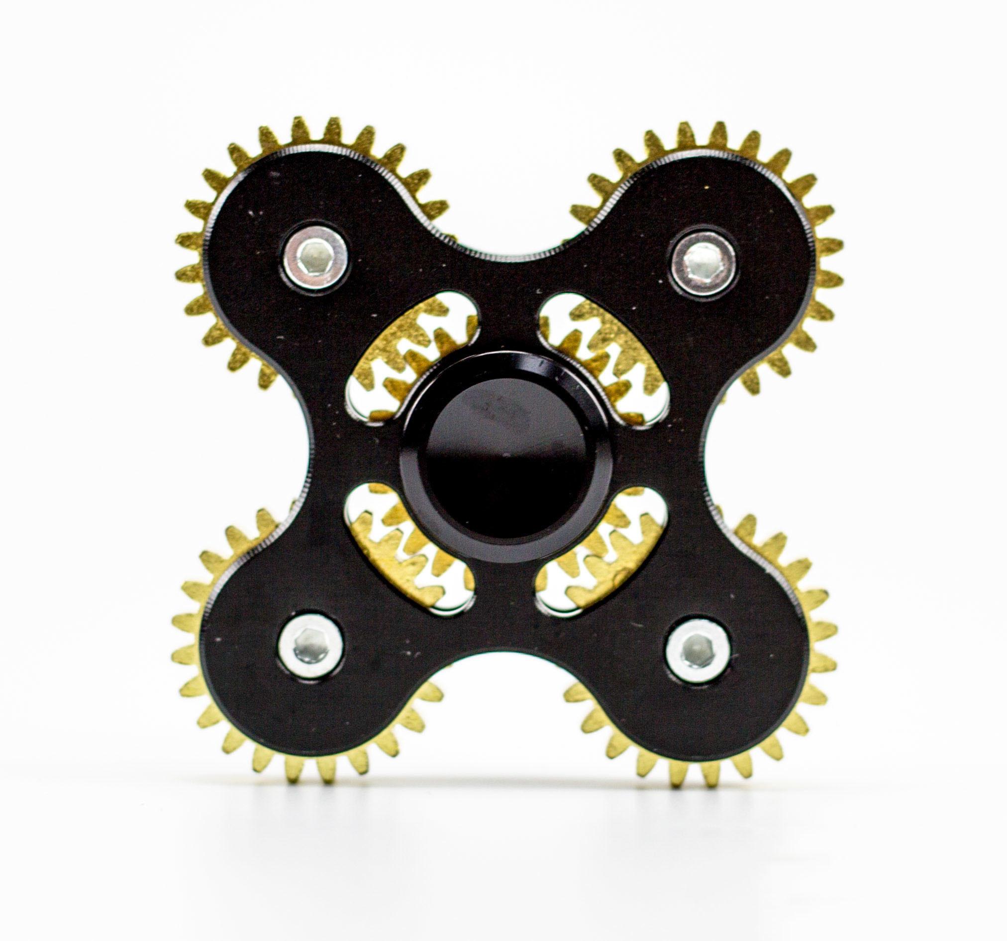 Спиннер (Hand Spinner) Шестеренка черная