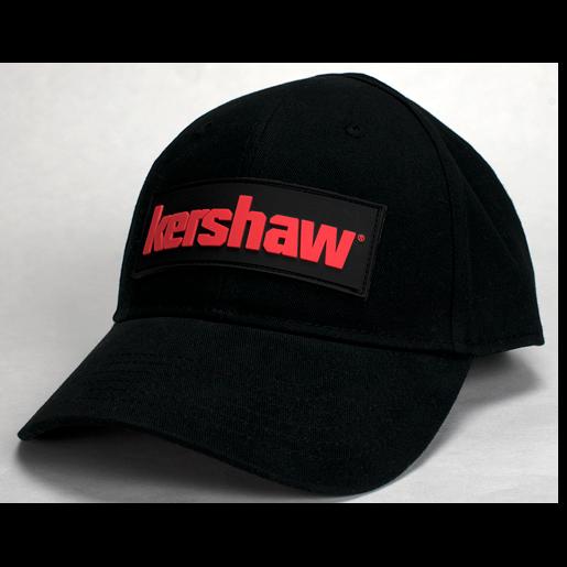 Бейсболка Kershaw CAP3, черная бейсболка atributika