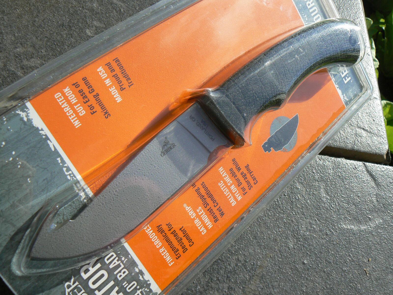Фото 5 - Нож с фиксированным клинком Gerber Gator, сталь 420HC, рукоять стеклотекстолит G10