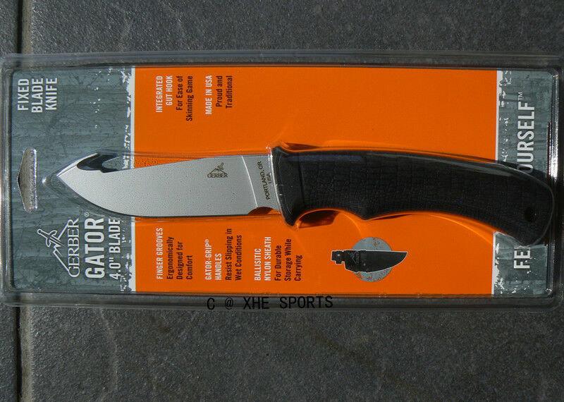 Фото 6 - Нож с фиксированным клинком Gerber Gator, сталь 420HC, рукоять стеклотекстолит G10