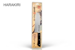 "Нож кухонный овощной сантоку Samura ""HARAKIRI"" (SHR-0095B) 175 мм, сталь AUS-8, рукоять ABS пластик, чёрный, фото 3"