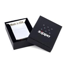 Зажигалка ZIPPO Classic с покрытием High Polish Chrome, латунь/сталь, серебристая, 36x12x56 мм, фото 2