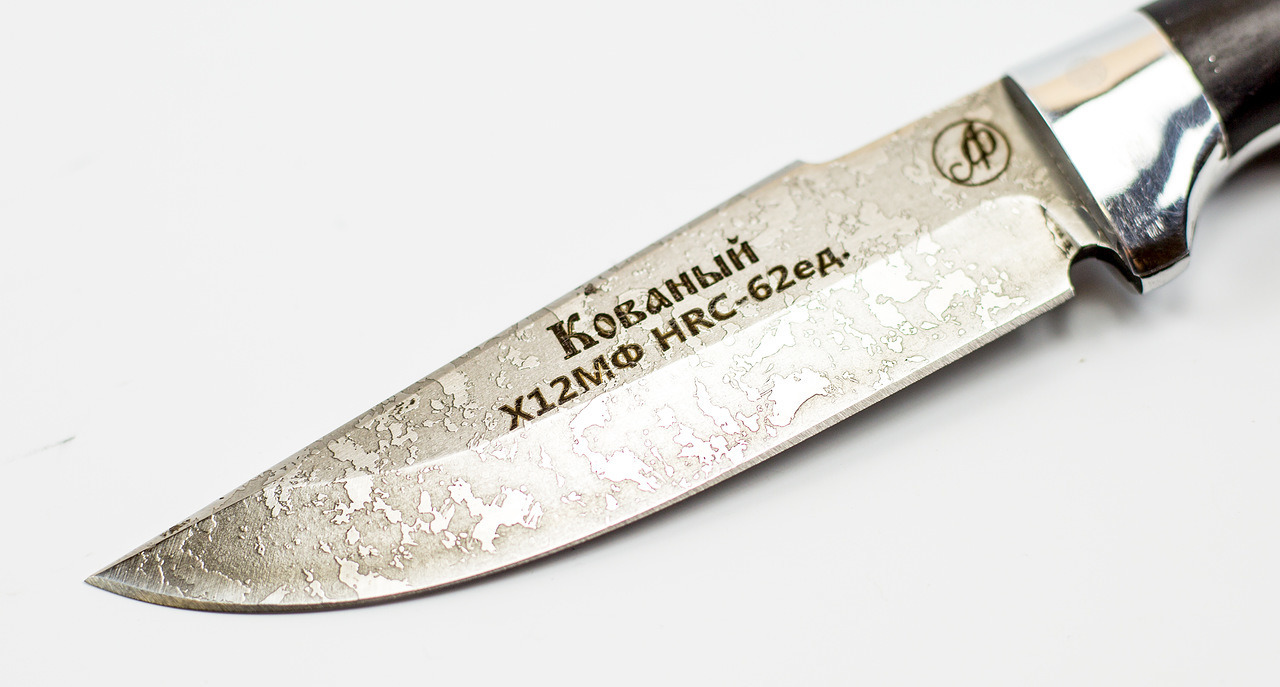 Фото 7 - Нож Ирбис малютка цмт, сталь Х12МФ, рукоять граб от Ножи Фурсач