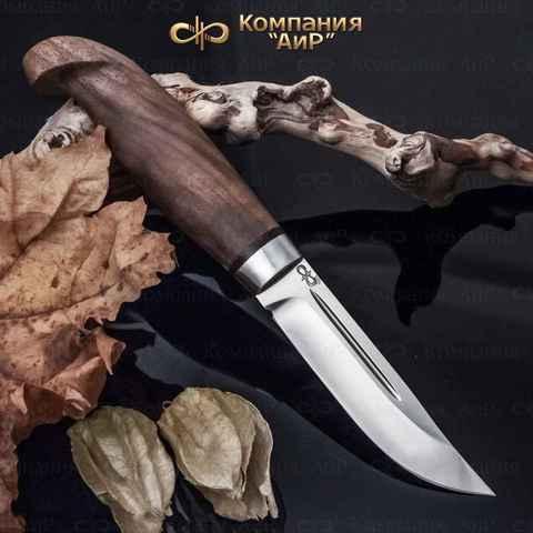 Нож АиР Финка Лаппи, сталь Elmax, рукоять дерево. Вид 2