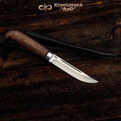 Нож АиР Финка Лаппи, сталь Elmax, рукоять дерево, фото 6