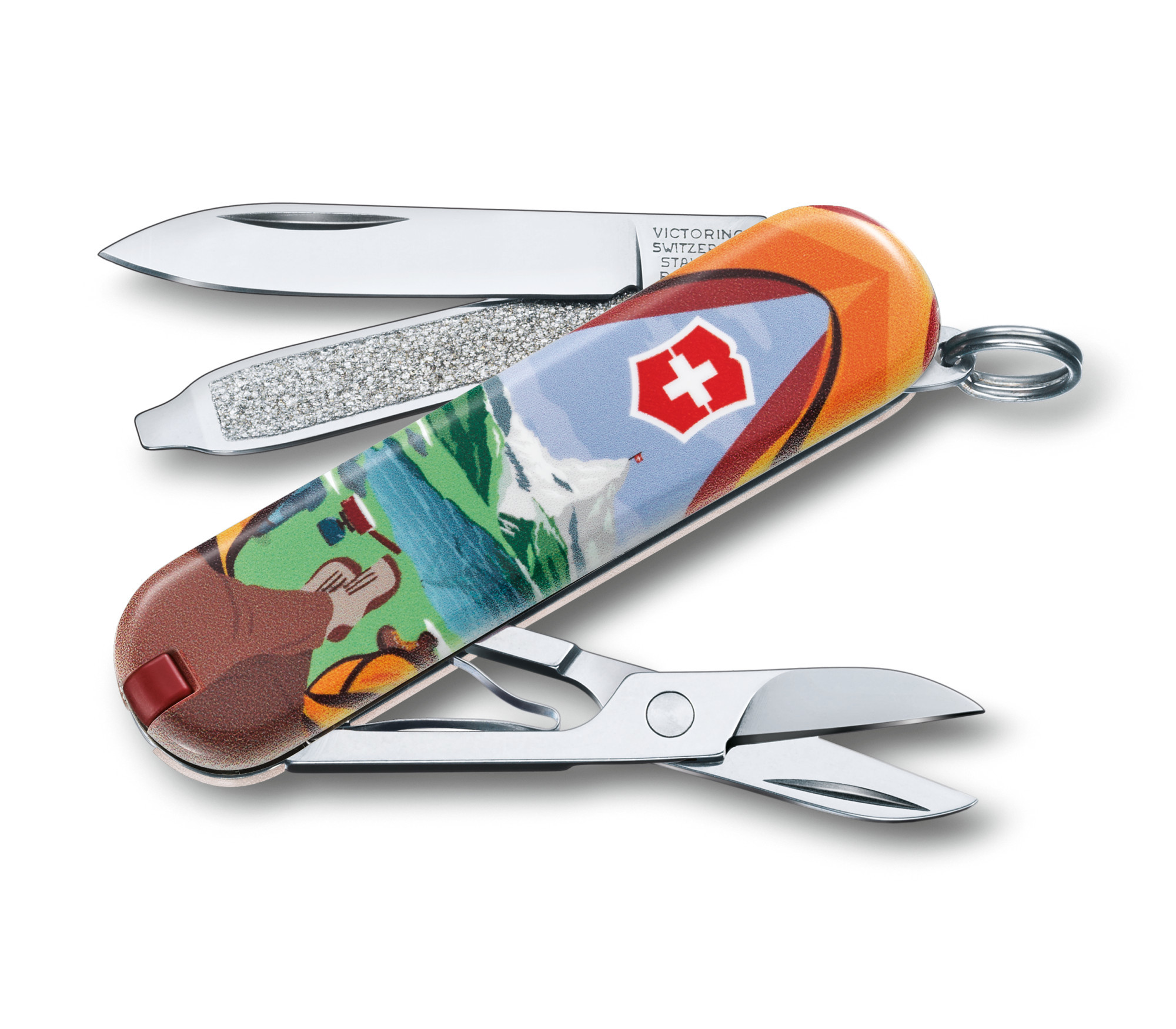 Нож перочинный Victorinox Classic Call of Nature (0.6223.L1802) 58 мм 7 функций нож перочинный victorinox classic 0 6223 94