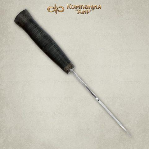 Нож Хазар, АиР, кожа, 95х18. Вид 3
