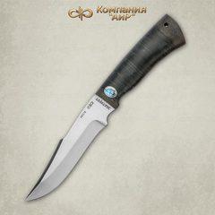 Нож Хазар, АиР, кожа, 95х18, фото 2