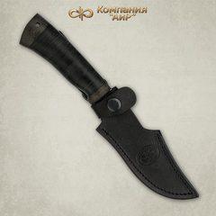 Нож Хазар, АиР, кожа, 95х18, фото 4