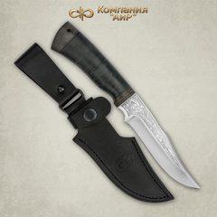 Нож Хазар, АиР, кожа, 95х18, фото 5