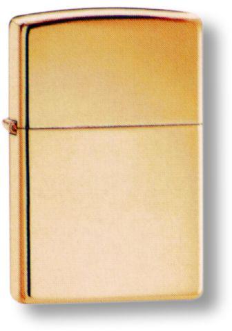 Зажигалка ZIPPO Classic с покрытием High Polish Brass зажигалка zippo slim® с покрытием high polish brass