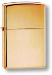 Зажигалка ZIPPO Classic с покрытием High Polish Brass